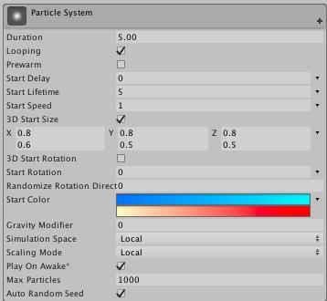 Adding Particle Razzmatazz in Debris using Unity 5 4 - Debris Game