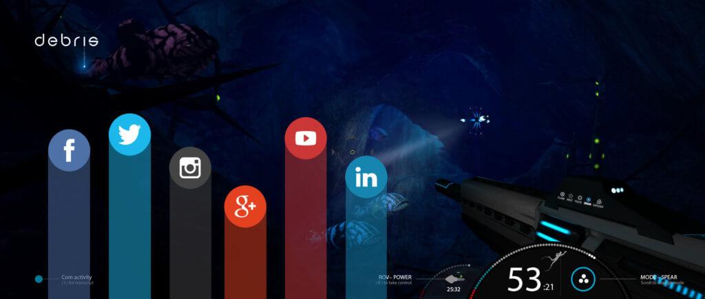 indie game social debris game